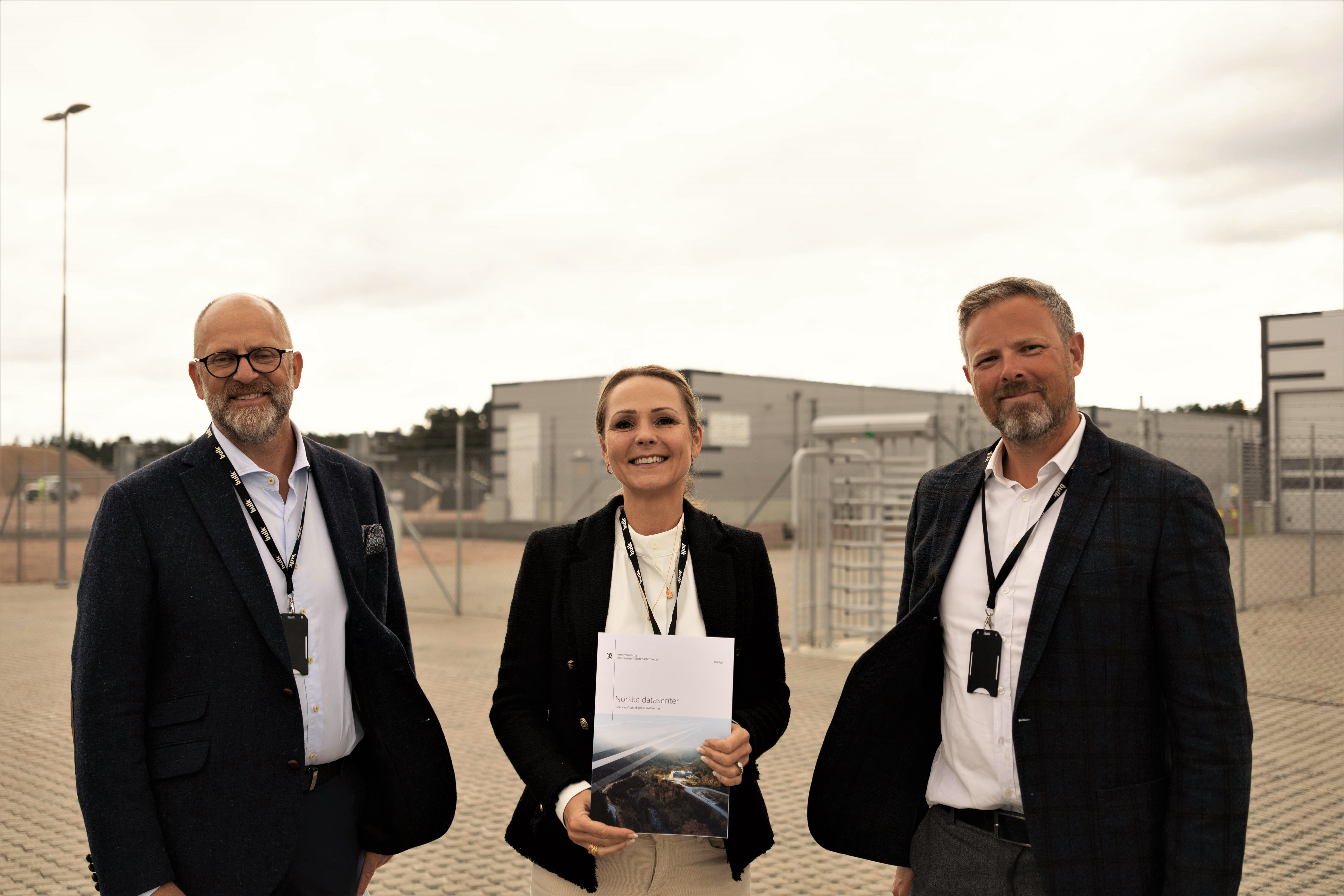 Minister Helleland visited N01 Campus